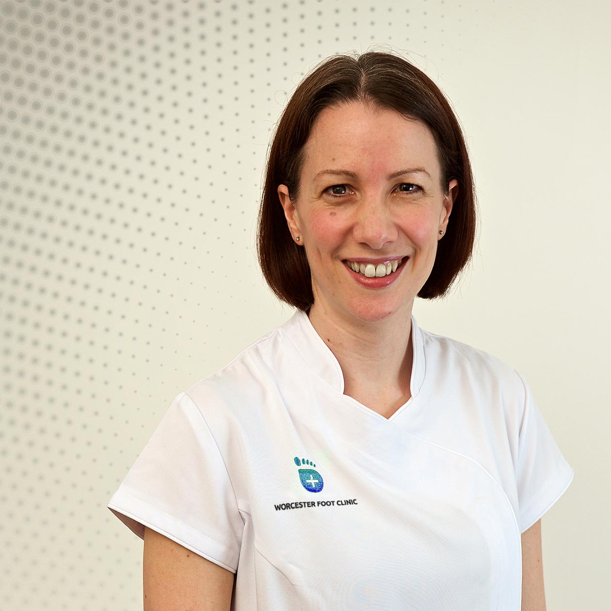Senior Podiatrist and Practice Manager Helen Gough  - Worcester Foot Clinic